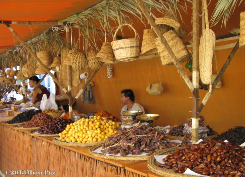 Dried fruit stall, Castro Marim medieval fair