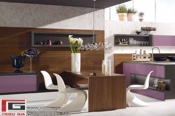Mẫu thiết kế tủ bếp, kệ bếp hiện đại mang phong cách tuyệt đẹp