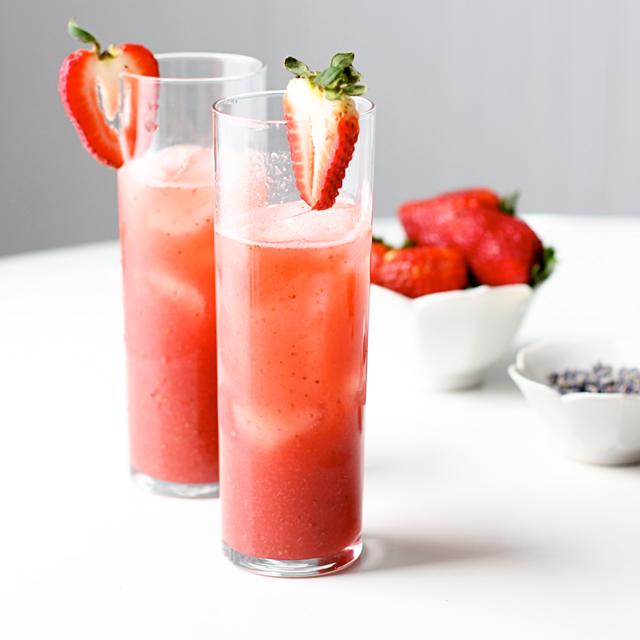 Strawberry Lavender Cocktail