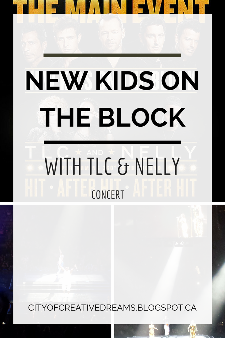 New Kids On The Block concert tour 2015