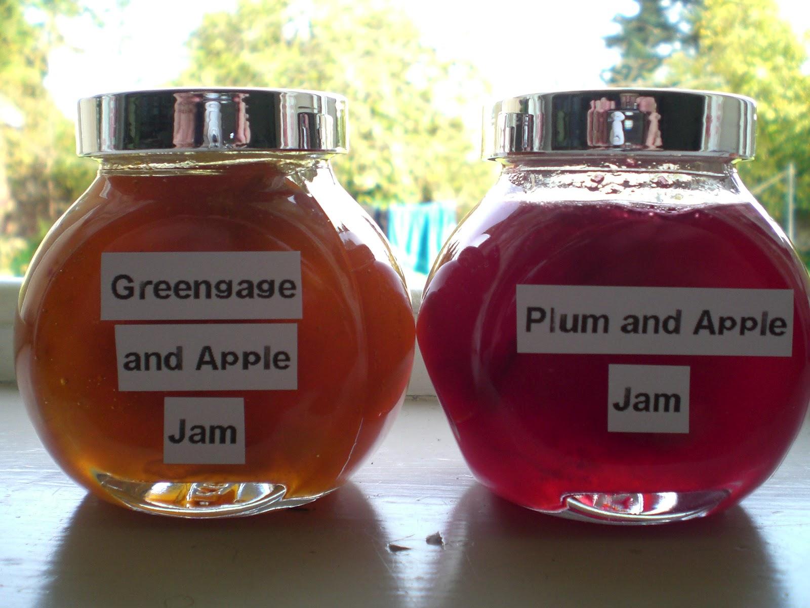 Knitorama: Margarita Friday, and Plum/Greengage and Apple Jam