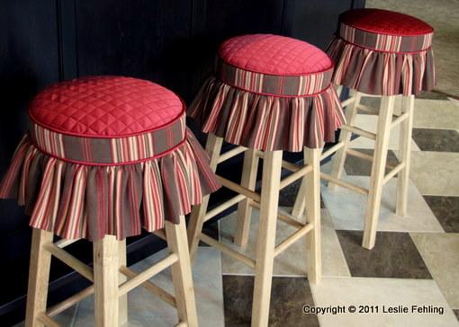 Transforming Furniture on Pinterest : Stoolcushioncoverswskirts from pinterest.com size 510 x 364 jpeg 53kB