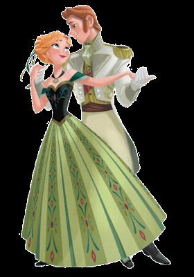 anna y kristoff de frozen fever