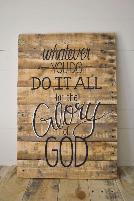 Whatever You Do, Do It All for the Glory of God | Cardigan ...