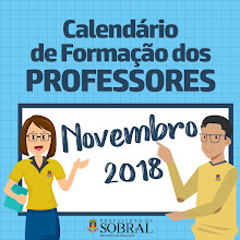 Calendário de Formação dos Professores