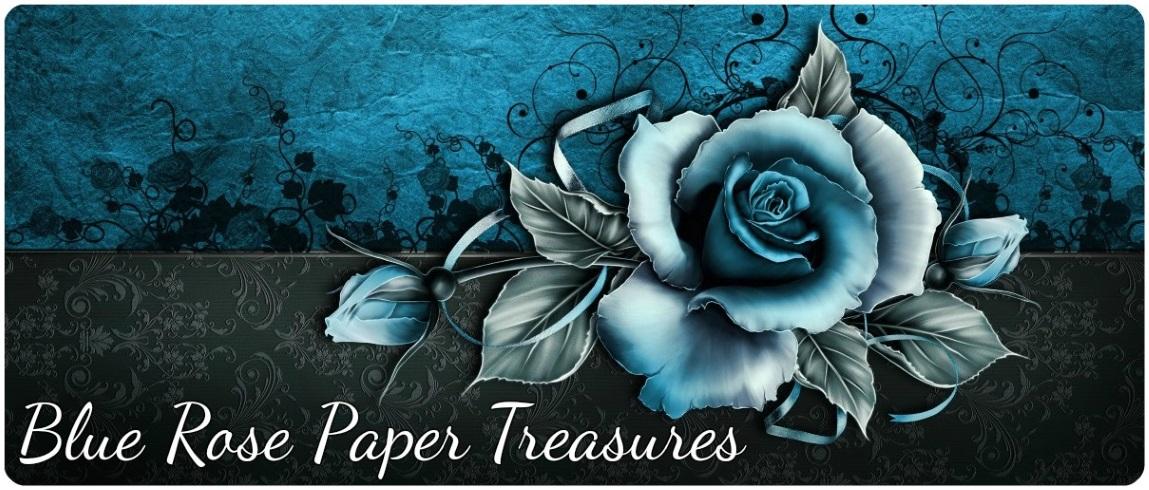Blue Rose Paper Treasures
