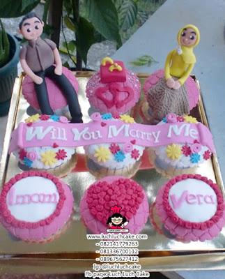 Cupcake Tunangan Daerah Surabaya - Sidoarjo