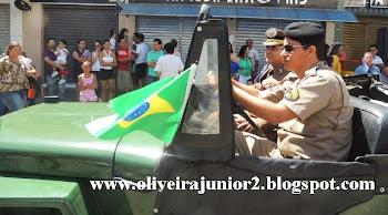 DESFILE CÍVICO JANAÚBA 2013 POLÍCIA MILITAR