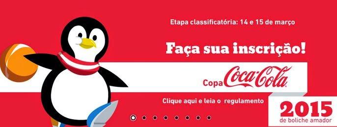 Participar da Coca-Cola Boliche Amador 2015 Bolichito