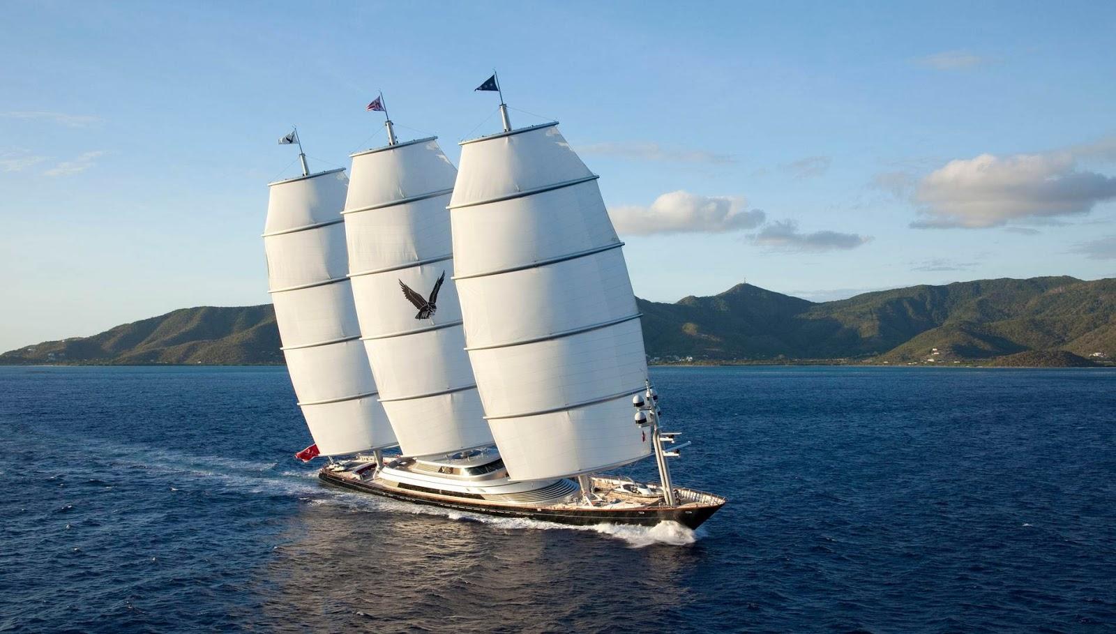 Megayacht MALTESE FALCON