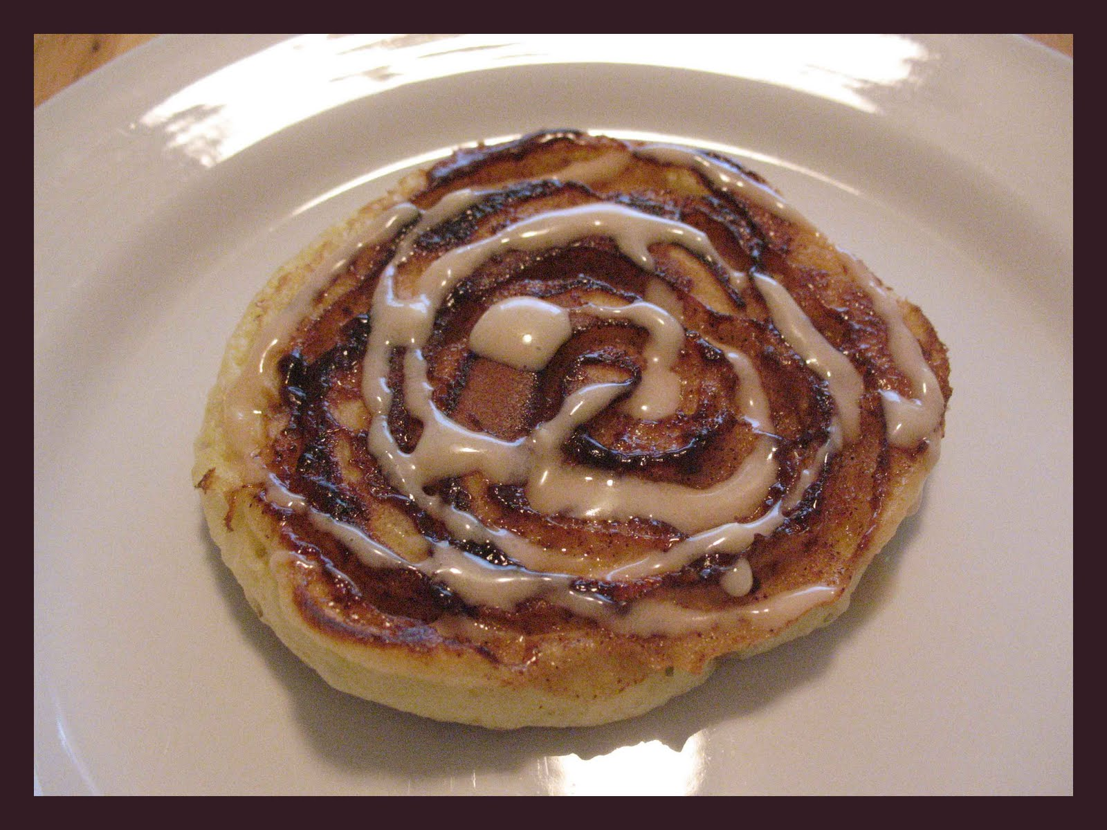 Sisters in the Kitchen: Cinnamon Swirl Pancakes