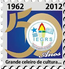 Selo criado em comemoração ao Jubileu do IEGRS