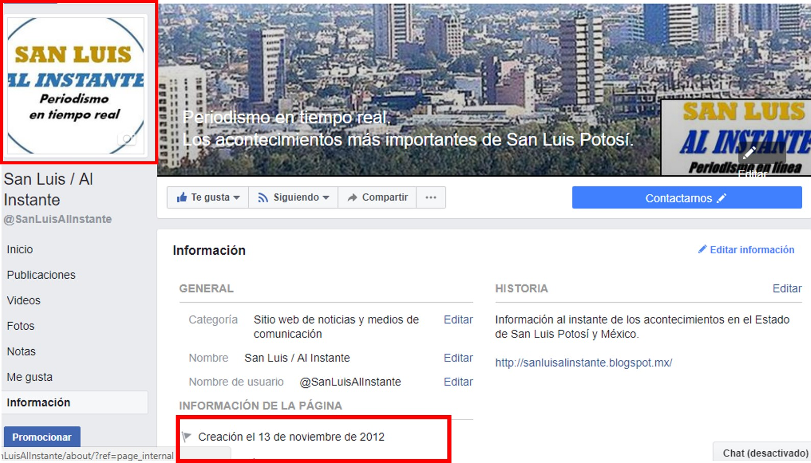 Denunciamos plagio y uso delictivo del nombre de San Luis Al Instante