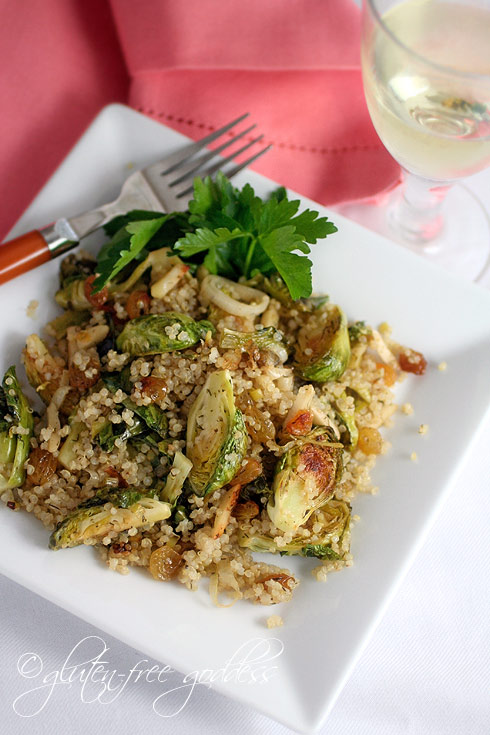 Gluten free quinoa with veggeis