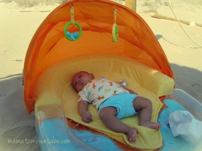 Mis imprescindibles must have para la playa con ni os for Silla bebe 6 meses
