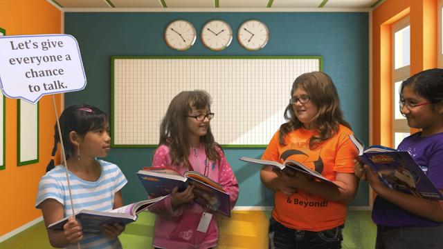 Collaborative Classroom Reading Curriculum ~ A full classroom collaborative conversations