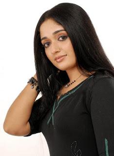 Kavya in a nice black dress