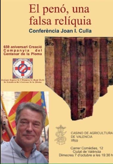 CONFERENCIA DE JOAN IGNACI CULLA