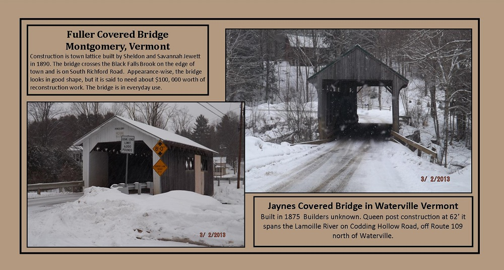 March 2, 2013 - Covered Bridges