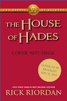 Portada no definitiva de The House of Hades