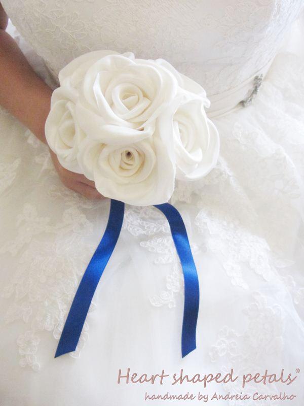bouquet em tecido