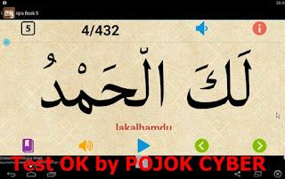 Tampilan Aplikasi Learn Iqra Book 5