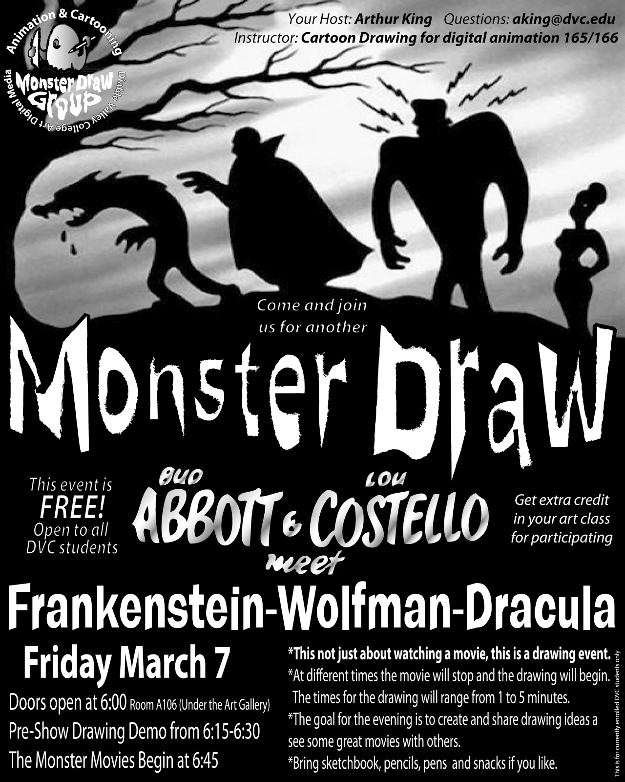 Spring 2014 Monster Draw