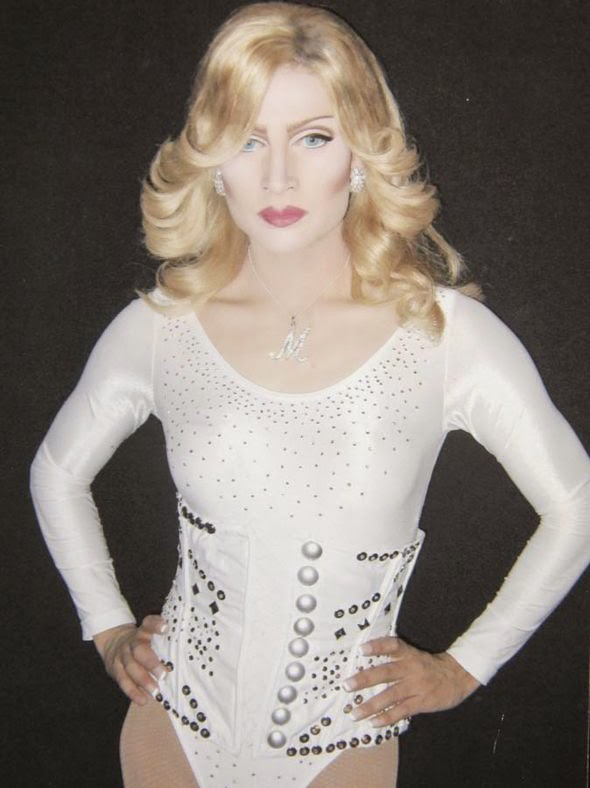 Man Spends £50,000 On Cosmetic Surgery To Look Like Madonna