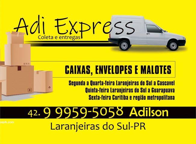 Adi Express Coleta e Entregas