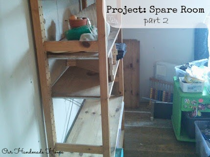 Project: Spare Room part 2 Our Handmade Home