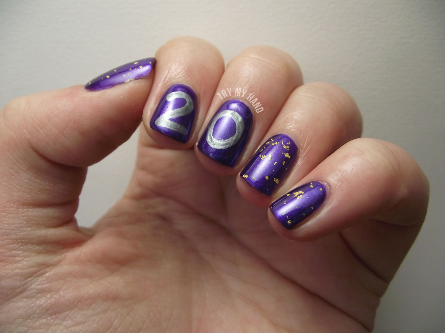 Try My Hand: NOTD : Happy Birthday to Me !