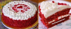 Tempahan Red Velvet Cake (Pulau Pinang)