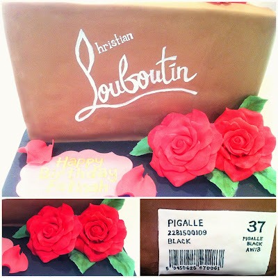 Cherie Kelly's Christian Louboutin Pigalle Shoe Box Cake