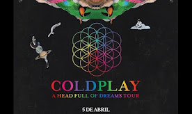 COLDPLAY (1ra VEZ) ESTADIO NACIONAL. 5 DE ABRIL 2016