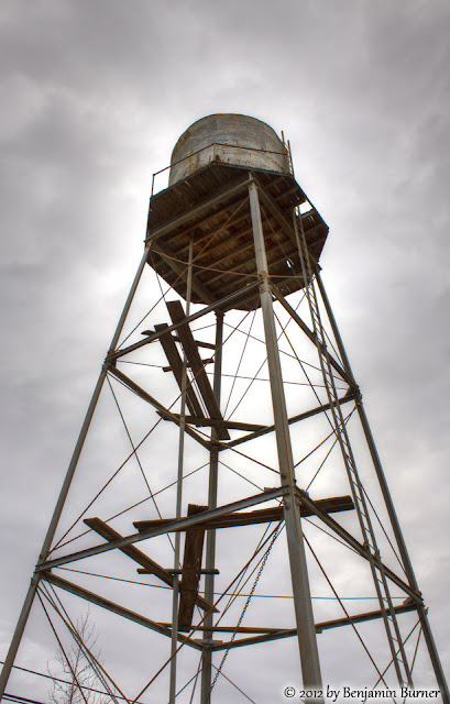 HDR of Old Water Tower