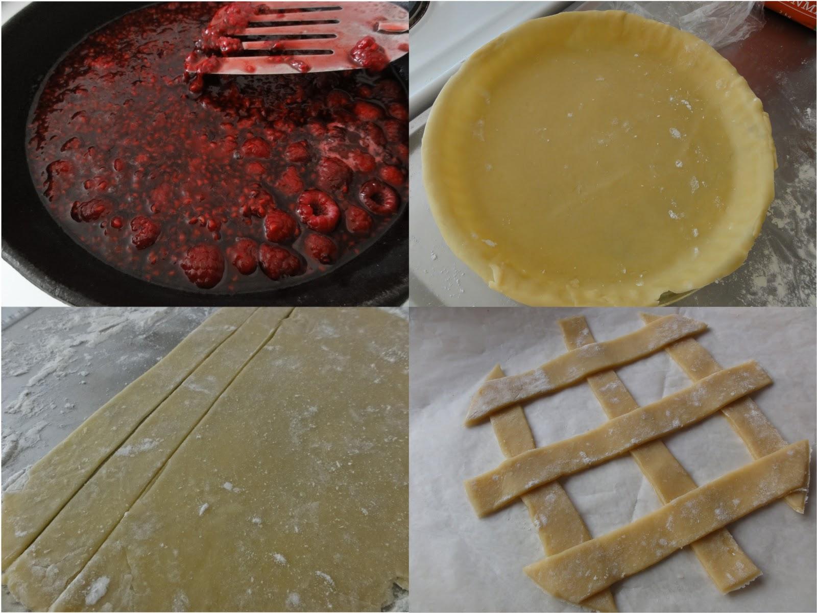 Lemon-Raspberry Crostata Recipe — Dishmaps