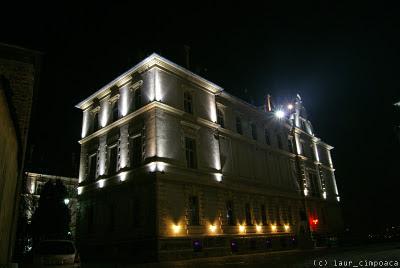 Sighisoara noaptea - Night in Sighisoara -Segesvár -Schäßburg