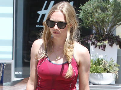 Amanda Seyfried Gym Leaving