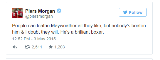 hollywood celebrities disappointed on maypac fight