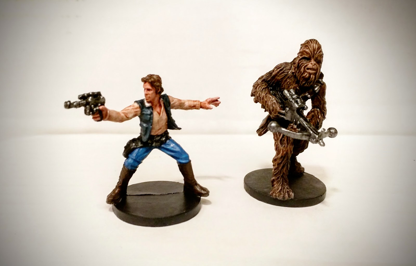 The Half Arsed Gamer July 2015 Ninja Division Painting Cerci Speed Circuit Han And Chewie Doing What They Do Best Looking Cool