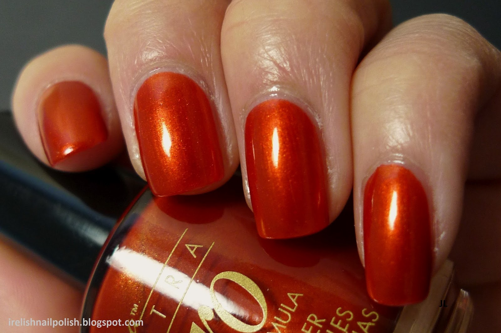 I Relish Nail Polish!: Nina Ultra Pro - Burnished Bronze