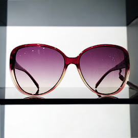 Rose colored glasses from Escada.