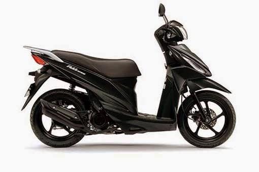Suzuki Adress Titan Black