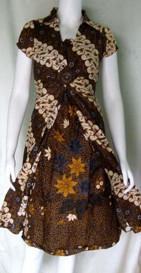 model baju batik pesta model baju batik untuk pesta juga