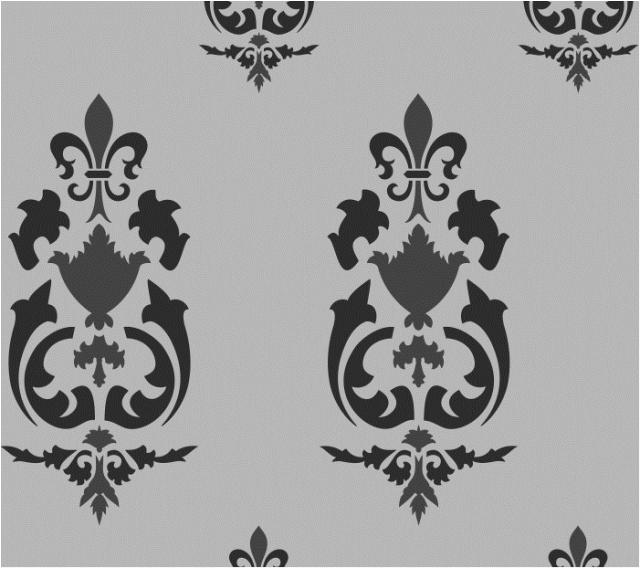 vintage wall stencils pattern