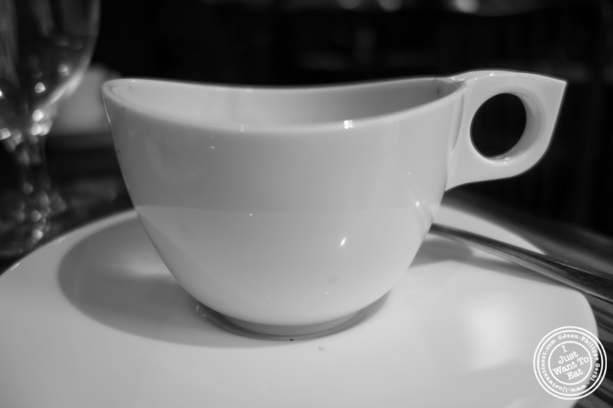 image of espresso at Abboccato Italian restaurant in NYC, New York