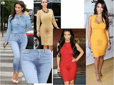 Kim Kardashian spanx pee golden shower camel toe cameltoe