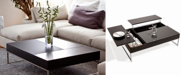 minimalist coffee table designs with creative storage solution - 19 Stylish Wood Coffee Table Designs For Minimalist Living Room