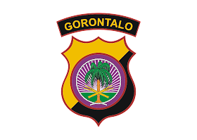 Polda Gorontalo Logo Vector download free