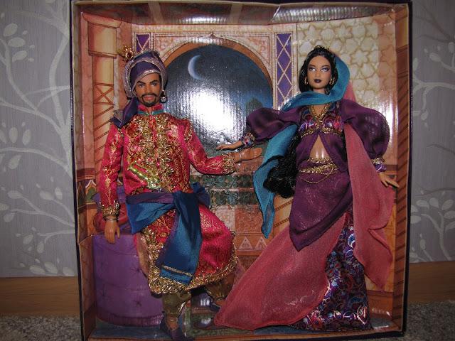 lalki z Baśni 1001 nocy